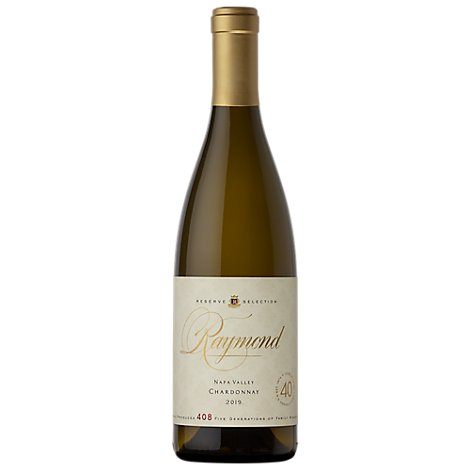 Raymond Reserve Collection Wine White Chardonnay Napa Valley 2019 - 750 Ml