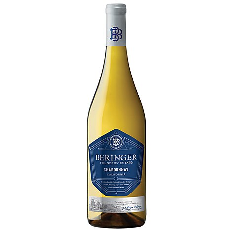 Beringer Founders Estate Wine Chardonnay California - 750 Ml