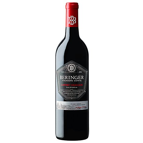 Beringer Founders Estate Wine Cabernet Sauvignon California - 750 Ml
