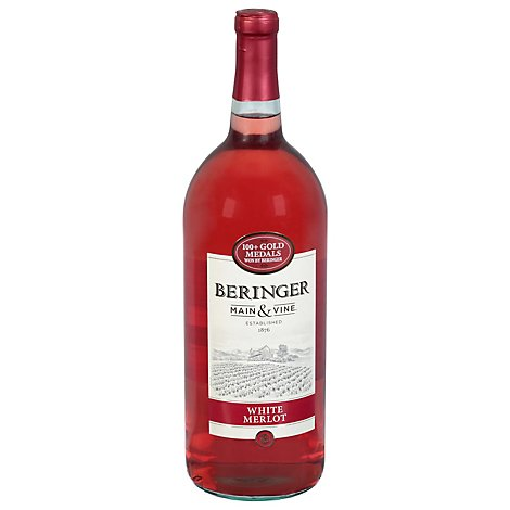 Beringer Wine California Collection White Merlot - 1.5 Liter