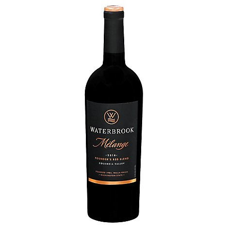 Waterbrook Melange Red Wine - 750 Ml