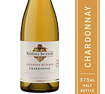 Kendall-Jackson Vintners Reserve Wine White Chardonnay - 375 Ml