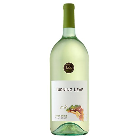 Turning Leaf Vineyards Pinot Grigio White Wine - 1.5 Liter