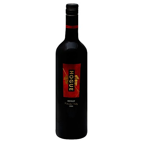 Hogue Wine Red Merlot - 750 Ml