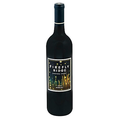 Firefly Ridge Wine Merlot Central Coast - 750 Ml