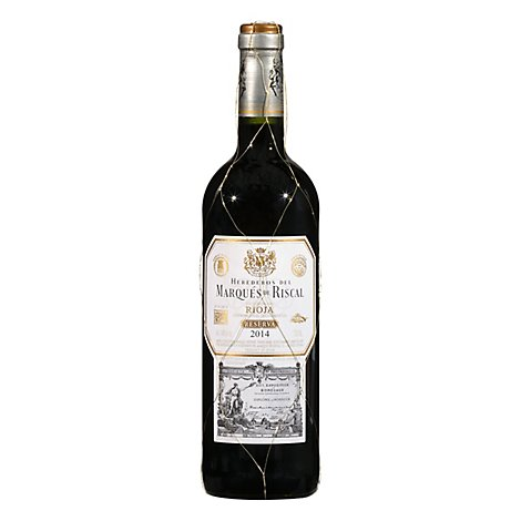 Marques De Riscal Wine Red Rioja Reserva - 750 Ml