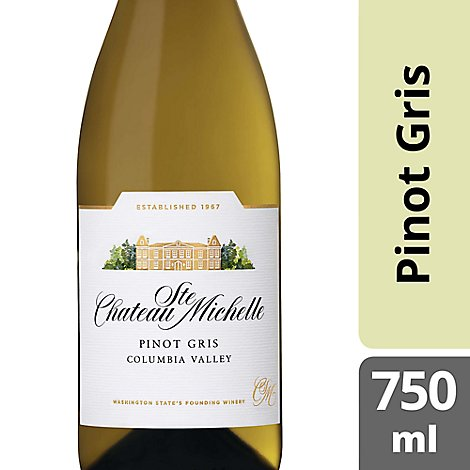 Chateau Ste. Michelle Wine Pinot Gris - 750 Ml