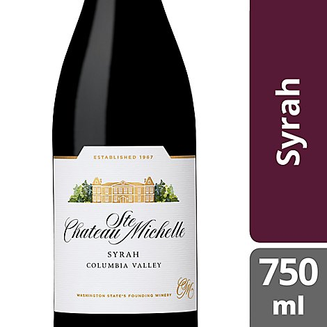 Chateau Ste. Michelle Wine Syrah - 750 Ml
