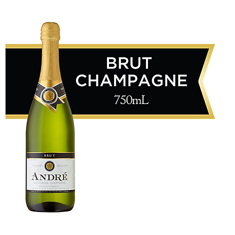 Andre Brut Champagne Sparkling Wine - 750 Ml