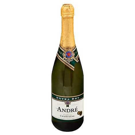 Andre Extra Dry Champagne Sparkling Wine - 750 Ml