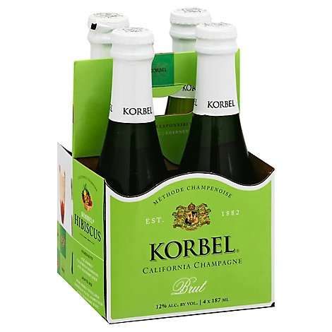 Korbel Champagne California - 4-187 Ml