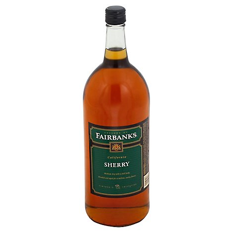 Fairbanks Sherry Dessert wine - 1.5 Liter