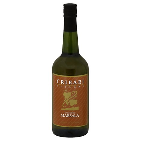 Cribari Cellars Dessert Wine Red Marsala - 750 Ml