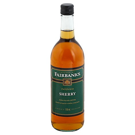 Fairbanks Sherry Dessert wine - 750 Ml