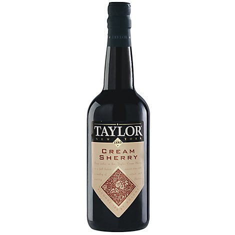 Taylor New York Wine Red Cream Sherry - 750 Ml