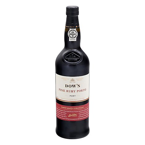 Dows Wine Ruby Porto - 750 Ml
