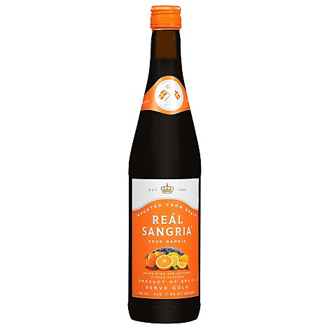 Cruz Garcia Sangria Real - 750 Ml