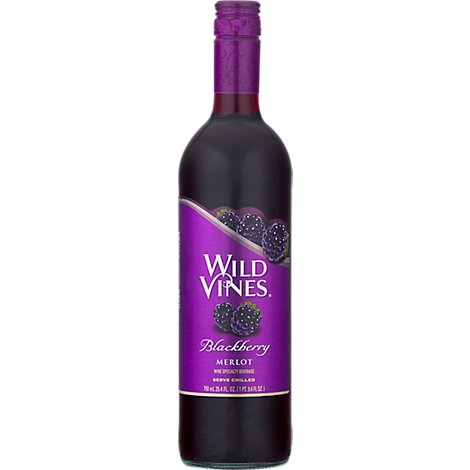 Wild Vines Strawberry White Zinfandel Wine - 750 Ml