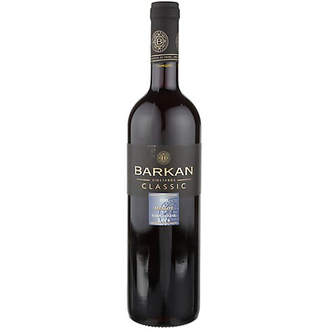 Barkan Merlot Kosher Wine - 750 Ml