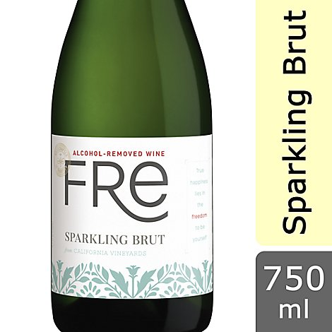 Fre Sparkling Wine Alcohol-Removed Brut - 25.4 Fl. Oz.