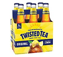 Twisted Tea Brewing Hard Iced Tea Lemon Tea Bottles - 6-12 Fl. Oz.