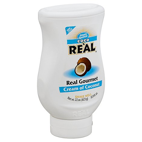 Real Coco Cream Of Coconut Simply Squeeze - 22 Oz