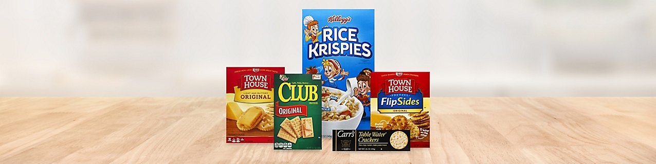 Kelloggs product montage