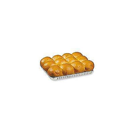 Bakery Rolls Butter Pan - 12 Count