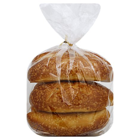 Bakery Rolls Sandwich Sourdough - 6 Count