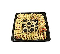 Bakery Party Tray Cookies Spritz & Fudge Susan 50 Count