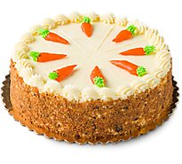 Fresh Baked Carrot Cake 8 Inch 1 Layer - Each