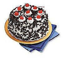 Bakery Cake 8 Inch 2 Layer Blackforest Cream - Each