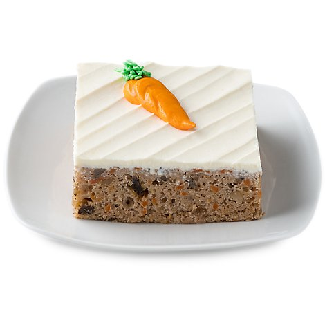 Bakery Sliced Carrot Cake - Each (970 Cal)