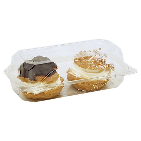 Bakery Cream Puff 2 Count - Each
