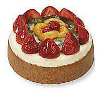 Bakery Cake Cheesecake 6 Inch Fruit Top Assorted - Each
