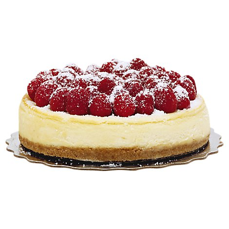 Bakery Cake Cheesecake 7 Inch Raspberry Top - Each