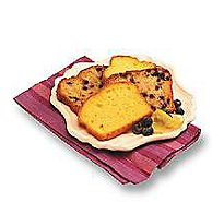 Bakery Cake Loaf Blueberry - Each