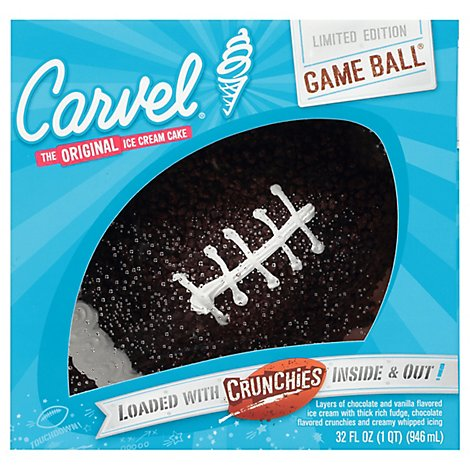 Cake Ice Cream Holiday Game Ball - Each