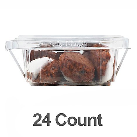 Bakery Cookies Chocolate Macaroon 24 Count - Each