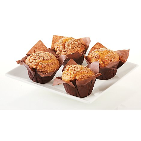 Bakery Muffins Banana Nut 4 Count - Each