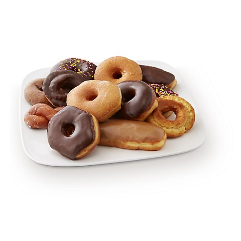 Fresh Baked Variety Donuts - 12 Count