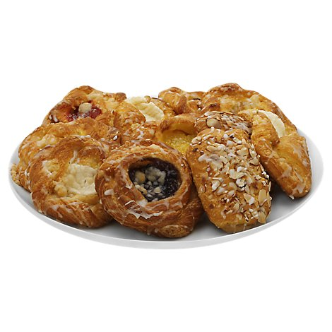 Bakery Danish Variety 12 Count - Each