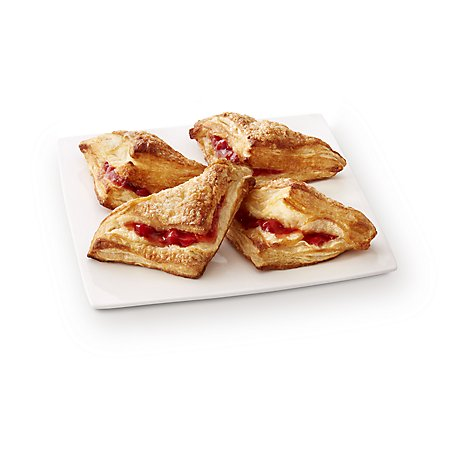Fresh Baked Cherry Turnover 4 Count