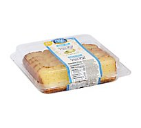 Hill & Valley Cake Creme Slice Sugar Free Lemon - Each