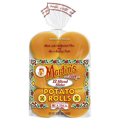 Martins Rolls Potato Sandwich 12 Count - 15 Oz