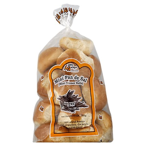 Little Quiapo Bake Shop Pandesal Mini Rolls Dinner - 16 Oz