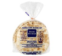 Middle East Baking Organic Pita Bread - 12 Oz
