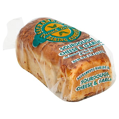 Sacramento Baking Bread Sour Cheese & Garlic - 18 Oz