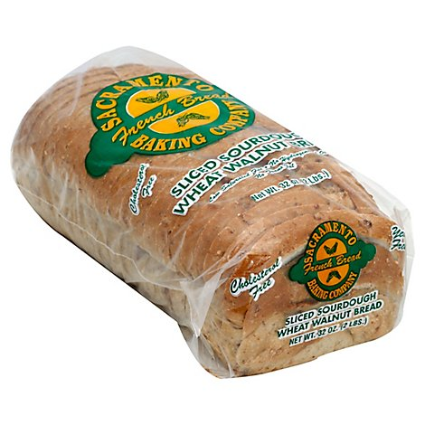 Sacramento Baking Bread Sour Wheat Oblong Sliced - 32 Oz