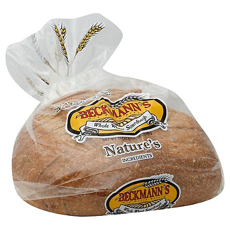 Beckmanns Whole Wheat Sourdough Bread - 24 Oz